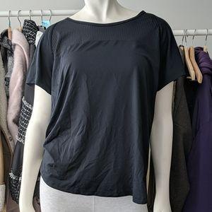 5/$45 Black Under Armour Running Workout Shirt